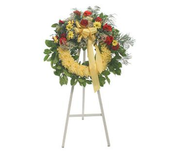 Floral Tribute Wreath
