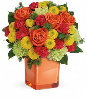 Teleflora\'s Citrus Smiles Bouquet
